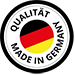 Qualitätssiegel - Made in Germany